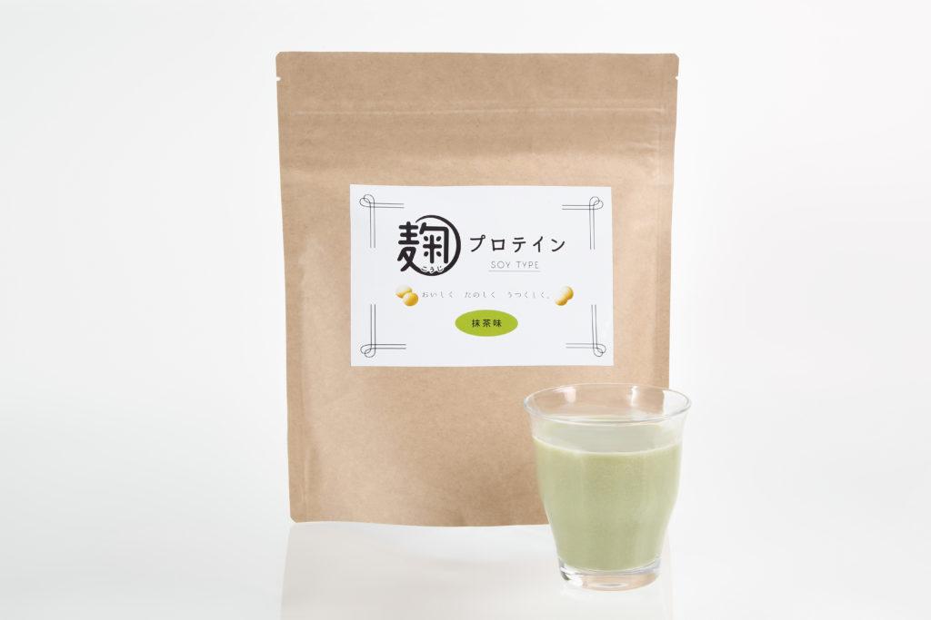 麹プロテイン(抹茶味)
